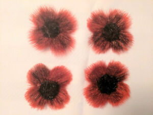 Seal Skin Remembrance Day Flower