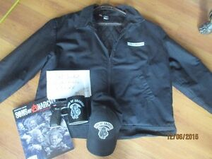 SIZE 3XL Sons of Antrachy jacket, hat, mug and magazine