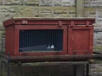 Rabbit hutch. collection preferred can deliver locally