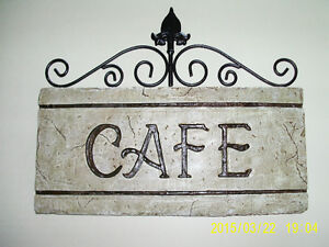Enseigne murale décorative - CAFÉ - Wall sign