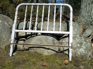 Antique Cast Iron Bed Frame Kawartha Lakes Peterborough Area image 2