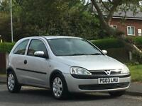 Vauxhall/Opel Corsa 1.2i 16v 2003.5MY Club