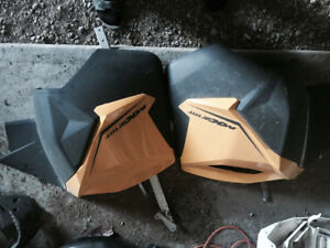 Skidoo xs side covers/nose cone