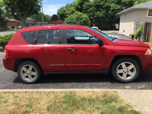 Selling my 2008 Jeep Compass. $4888 with 126456 km.