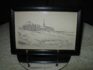 "OLD & INTERESTING MINI ""PENCIL SKETCH"" by L.B.JENSON"