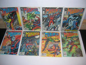 For Sale: DC Comics Manhunter, The Flash, Suicide Squad