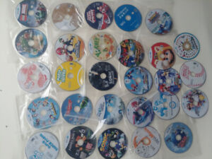 Nintendo Wii and Wii U Games, Lot, Used