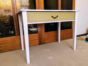 Hall table console desk