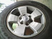 4 17 in Toyota truck rims & tires