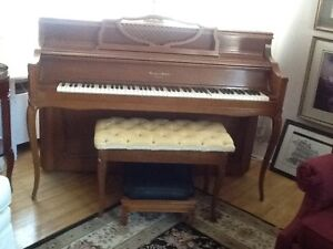 ******Mason & Risch Piano With Bench******
