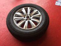 "VW Amarok 18"" alloy wheel with Tyre"