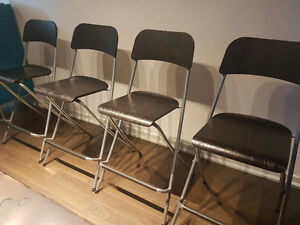 Franklin Bar Stools from Ikea - set of 4