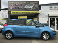 2008 CITROEN C4 PICASSO 2.0 HDI AUTOMATIC EXCLUSIVE *12 MONTH WARRANTED INCLUDED