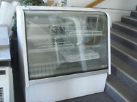 Heated display case