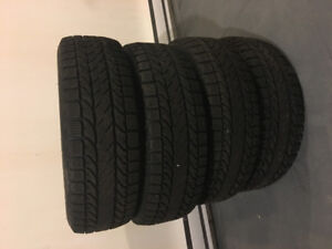 15 inch BF Goodrich Winter Slalom KSI Tires - $200