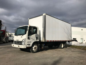 2011 Isuzu NRR 20FT Box W/Ramp *G License*