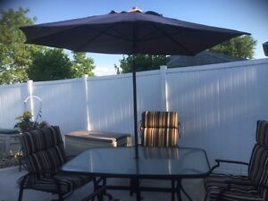 Patio Set in Excellent Condition
