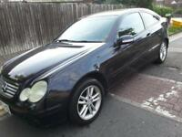 Mercedes-Benz C200 2.1TD AUTOMATIC 2004 COUPE DIESEL