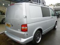 2009 Volkswagen TRANSPORTER T5 T26 TDI SWB WINDOW VAN *SILVER* Manual Medium Van