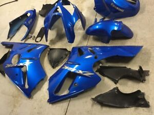 2005 Kawasaki ZX12r Fairings - Set