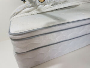 Simmons Twin mattress box spring and frame.