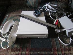 Nintendo Wii bundle with 3 games