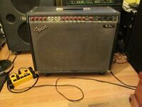 Fender The Twin 100/25 watts a Lampes/ tube amp 1990 serviced