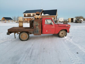 1972 F-250 with welding deck