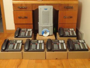 Nortel Norstar BCM50 with Call pilot voice mail 6-T7316 tel.