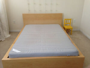 IKEA Malm Full/double bed and mattress