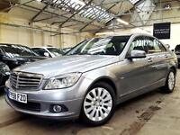 2008 Mercedes-Benz C Class 2.1 C200 CDI Elegance Saloon 4dr Diesel Manual
