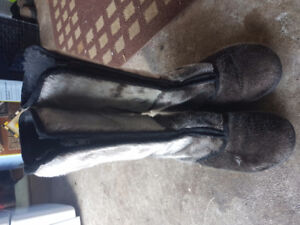 Seal Skin boots size 9 - 10 / 40