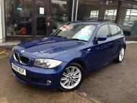 2010 (60) BMW 118 2.0TD auto M Sport **Half Leather** (Finance Available)