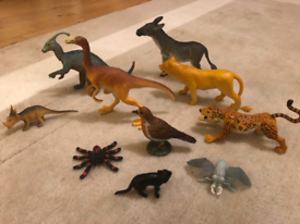 Toy animals in excellent condition