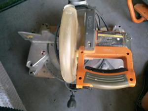 """Ridgid 10"""" inch compound miter saw"""