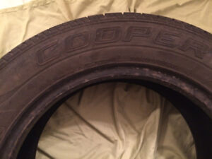 TWO COOPER TIRES THAT FIT FORD FOCUS SEZX4 SEDAN 2005 size 60R15
