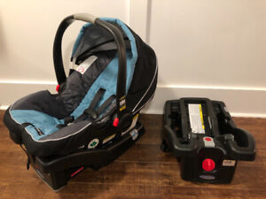 Graco snugride 35 clickconnect infant car seat with two bases