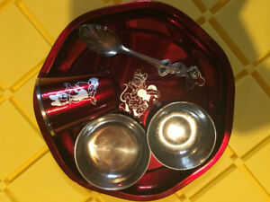 Baby food set ( stainless steel )