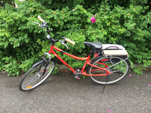 Large Frame 7 Speed Ladies Cruiser Bicycle