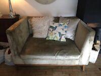 Snuggle chair small sofa