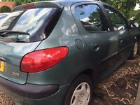 Peugeot 206 1.1 - MOT March 17 - good drive!