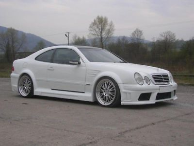 MERCEDES-BENZ CLK W208 WIDE BODY KIT