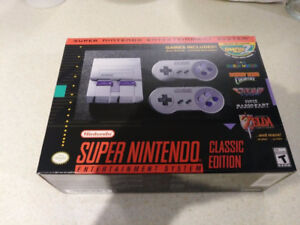 BrandNew SNES Classic / Mini (Will mod with more games for $200)