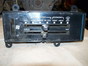 73 to 87 gmc chevy pickup a/c heater control