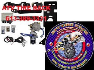 Can-Am RICOCHET Skid Plates Canada  ATV TIRE RACK Custom Colours Kingston Kingston Area image 8
