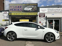 2015 VAUXHALL ASTRA GTC 1.4i TURBO L-EDITION + 12 MONTH (AA) WARRANTY INCLUDED