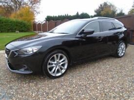 MASSIVE SPEC 2014 Mazda 6 2.2 DIESEL 150ps ESTATE SPORT NAV 1 OWNER ** £30 TAX *