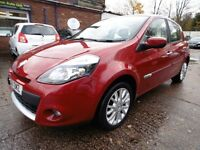 Renault Clio 1.5 DCI 86 DYNAMIQUE TOMTOM (SAT NAV + LOW RATE FINANCE AVAILABLE) (red) 2011