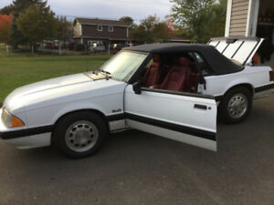 1989 FORD MUSTANG 5.0 CONVERTIBLE - SECOND OWNER - 93000KMS