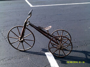 Antique Vintage 1875 Tricycle